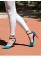Mecrea Ayakkabı Mavi